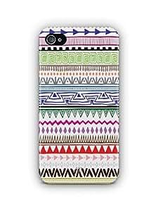 YuBingo Zig Zag Pattern Mobile Case Back Cover for Apple iPhone 4S