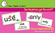 I See, I Spell, I Learn® – Picture Sight Words Flashcards Set 3