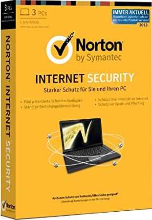 Norton Internet Security 2013 - 3PCs