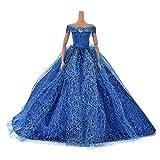 1pcs Mode Puppen Hochzeit Schleppen-Rock-Kleid für Barbie...