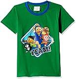 Ninja Hattori Boys' T-Shirt (HST-2124_Green_2 - 3 years)