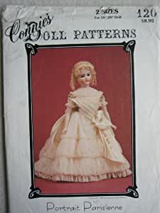 """Connie's Doll Pattern 120 - Portrait Parisienne for 18"""" or 20"""" Doll"""