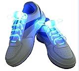 iBaste Los cordones brillantes LED cordones perezoso cordones fluorescentes