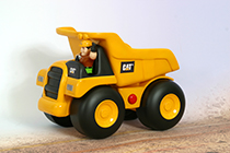 Toystate Caterpillar Construction Big Movin' Rumbler Dump Truck