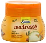 NECTRESSE Natural No Calorie Sweetener, 140 Serving Canister