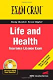 img - for Life and Health Insurance License Exam Cram book / textbook / text book