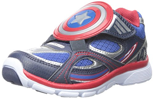 Stride-Rite-Captain-America-Light-up-AC-Lighted-Sneaker-ToddlerLittle-Kid