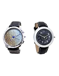 Foster's Men's Multicolour Dial & Foster's Women's Grey Dial Analog Watch Combo_ADCOMB0002352