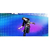 Viper2 Led Video Curtain, total size is 2mtr x 4 mtr P12 (6.5ft x 13 ft )with Led video curtain PC controller