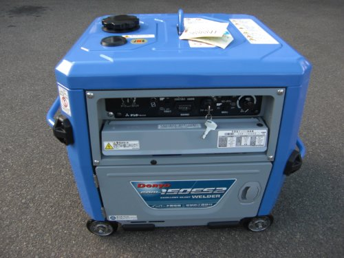 デンヨーエンジン溶接機GAW-150ES2発電機ウエルダー建設機械