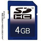 上海問屋セレクト SDHCカード 4GB (CLASS 6)