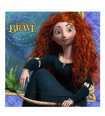 Disney's Brave Lunch Napkins - 16 Count