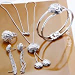 Wholesale 925 Sterling Silver Bracele...