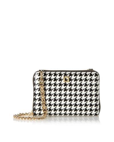 LODIS Women's Los Feliz Houndstooth Janelle Cross-Body Phone Wallet