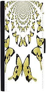 Snoogg Kaleidoscopic Butterfliesdesigner Protective Flip Case Cover For Apple...
