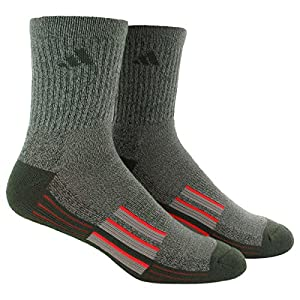 Amazon.com: adidas Men's Climalite X II Mid-Crew Socks