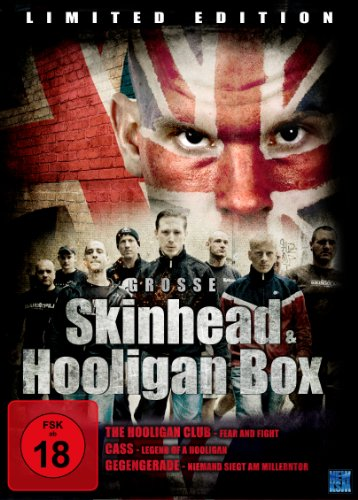 Grosse Skinhead & Hooligan Box (Cass / Gegengerade / Clubbed) [3 DVDs] [Limited Collector's Edition]