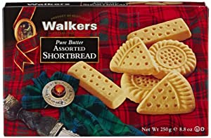 Walkers Shortbread Assorted, 8.8-Ounce Boxes (Pack of 6)