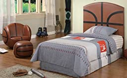 Kid Youth Basketball Twin Size Bed Headboard