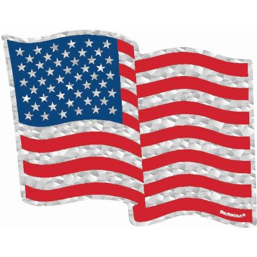 Flying Colors Large Flag Prismatic Sticker- 3 Sheets