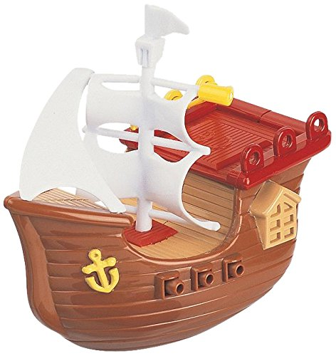 Navystar Wind Up Pirate Boat Baby Toy (Colors May Vary)