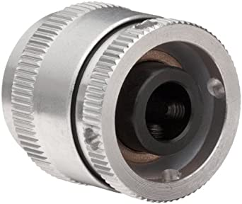 "Huco 271.25.28.Z Size 25 Varitork Miniature Friction Clutch, 2-Plate, Aluminum Body, Inch, 0.315"" Bore A, 0.315"" Bore B, 1"" OD, 1.04"" Length, 469.05 in-lbs Max Torque"