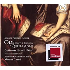 �w���f���F�A�������̒a����̂��߂���� (Handel: Ode for the Birthday of Queen Anne)