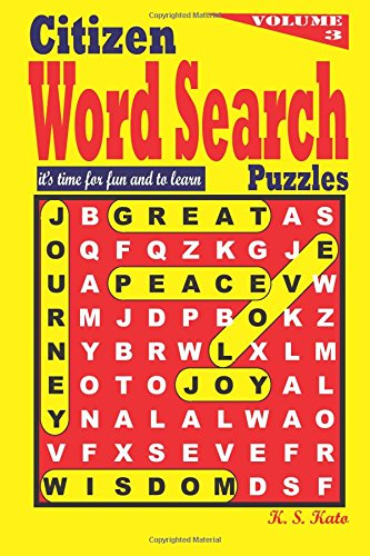 Citizen Word Search Puzzles: Volume 3