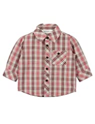 Small Check Shirt Red Check