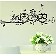 Willtoo Kids Vinyl Art Cartoon Owl Bu…