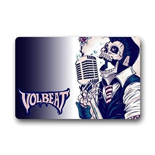 Old Tin Sign Concert Posters Volbeat Logo Decorative Metal Poster