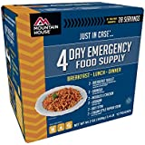 Mountain House Just-In Case 4 Day Emergency Food Supply