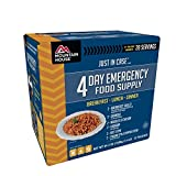 Mountain House 4 Day Emergency Food Supply