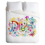 DENY Designs Stephanie Corfee Dream a Little Lightweight Duvet Cover, Twin