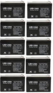 12V 8Ah Sealed Emergency Light Battery for General 01280 (CF12V8) (WKA12-8F) - 10... by UPG