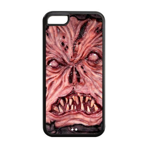 5C Phone Cases, Evil Necronomicon Hard TPU Rubber Cover Case for iPhone 5C by supermalls