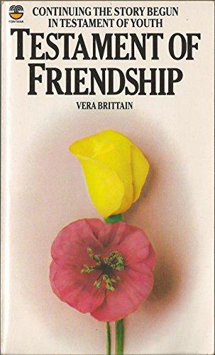 Testament of Friendship PDF