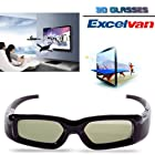 Excelvan New Wireless 3D Active Shutter TV Glasses for Panasonic TC-P50ST30