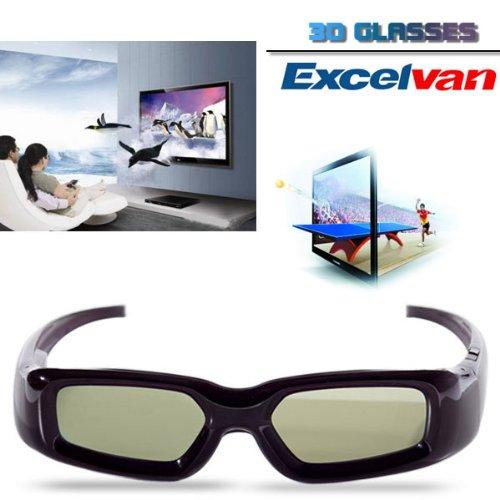 Excelvan New Wireless 3D Active Shutter TV Glasses