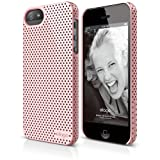 elago S5 Breathe Case for New Apple iPhone 5 + HD Professional Extreme Clear film included - Full Retail Packaging - Lovely Pink