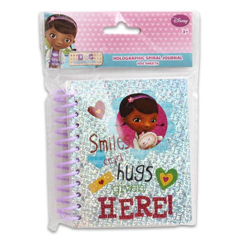 100sheet DOC Mcstuffins FAT Spiral Hologram Journal