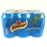 Schweppes Diet Lemonade 6x330ml 1980g