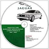 Jaguar XJ8, X308 WORKSHOP AND PARTS MANUAL.