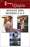 Harlequin Desire August 2014 - Bundle 2 of 2: Taming the Takeover Tycoon\Redeeming the CEO Cowboy\A Brides Tangled Vows