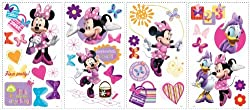 Disney Mickey Friends Minnie Bow-tique Wall Decal Cutouts 18 x40