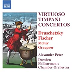 Virtuoso Timpani Concertos