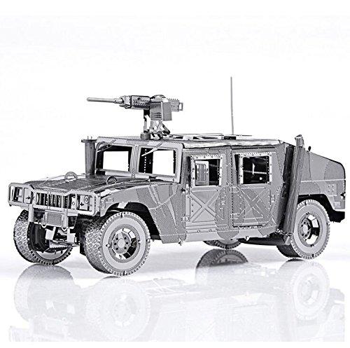 Manual Assembly Metal Humvee Jeep Military Car Model Intelligence Development /item# G4W8B-48Q34999