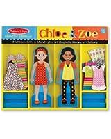 Melissa & Doug Chloe & Zoe - Magnetic Dress Up