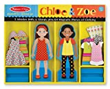 Melissa & Doug Chloe & Zoe - Magnetic Dress Up