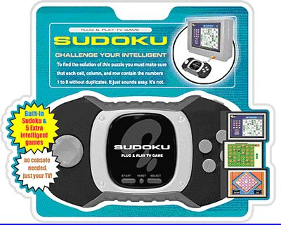 Maximo Concepts Sudoku Plug & Play Tv Game